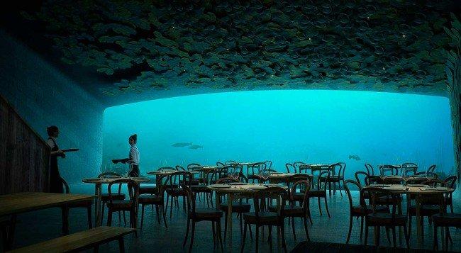 Inauguran el primer restaurante submarino de Europa|Foto: El Periódico