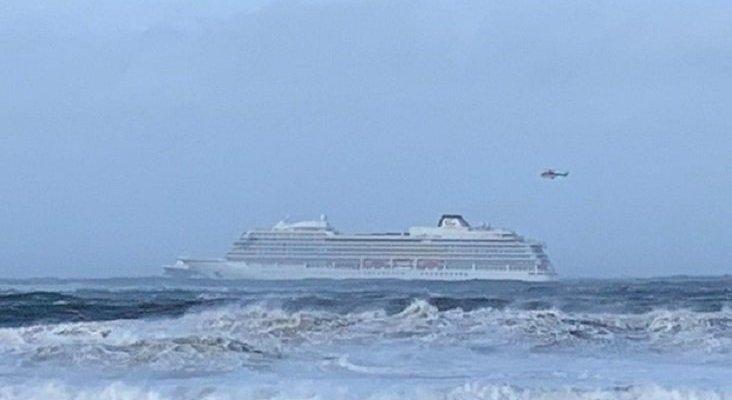 El crucero Viking Sky cancela su próximo viaje, tras el incidente de Noruega | Foto: AFP vía ABC