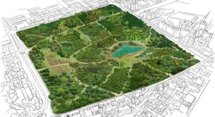 "Málaga ""plantará"" un bosque urbano, donde estaba previsto un centro comercial | Foto: La Opinión de Málaga"