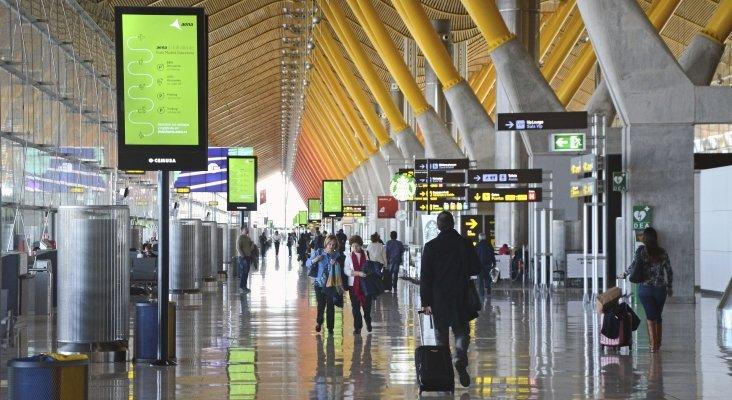 Una huelga de seguridad en el aeropuerto de Madrid amenaza a la Semana Santa | Foto: Pop9000 CC BY-SA 4.0