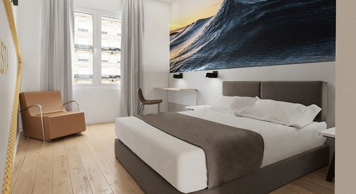 Casual Hoteles abre su tercer establecimiento en el País Vasco | Foto: Casual San Sebastián de las Olas vía casualhoteles.com