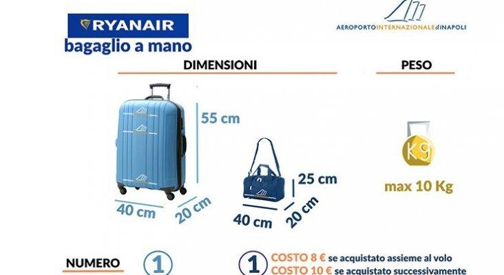 equipaje mano ryanair maleta bolsa pequeña