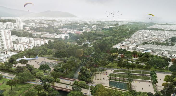 El 'BioParque Museo vivo' de Cali (Colombia) aunará naturaleza, deporte, cultura y turismo   Foto Plataforma Arquitectura