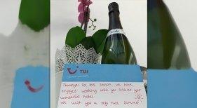 El emotivo mensaje con el que se despiden dos guías de TUI de un hotel de Canarias