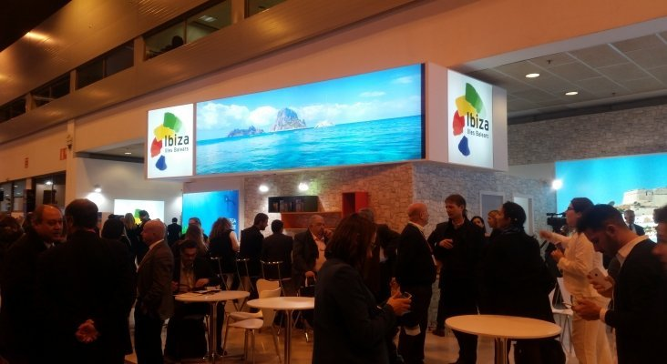 Estand de Islas Baleares durante Fitur 2017