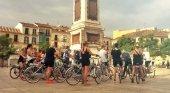 Revuelo en Málaga: prohíben a los turistas circular en bicicleta en el centro de la ciudad  Foto: biketoursmalaga.com