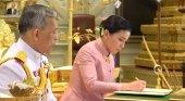 De azafata de Thai Airways a nueva reina de Tailandia|Foto: Sky News