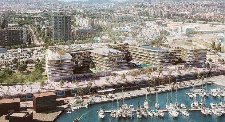 Hard Rock abrirá su primer hotel en Barcelona, repitiendo la operación de Madrid   Foto: Maqueta del Hard Rock Hotel Barcelona- elEconomista.es