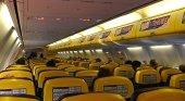 Cabina de pasajeros de Ryanair