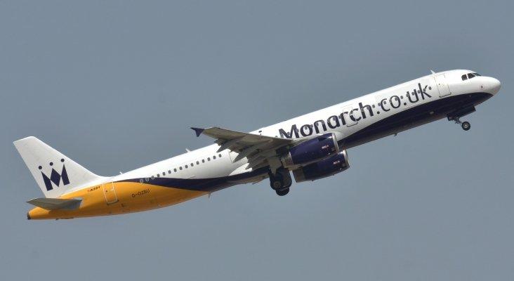 Avión de Monarch