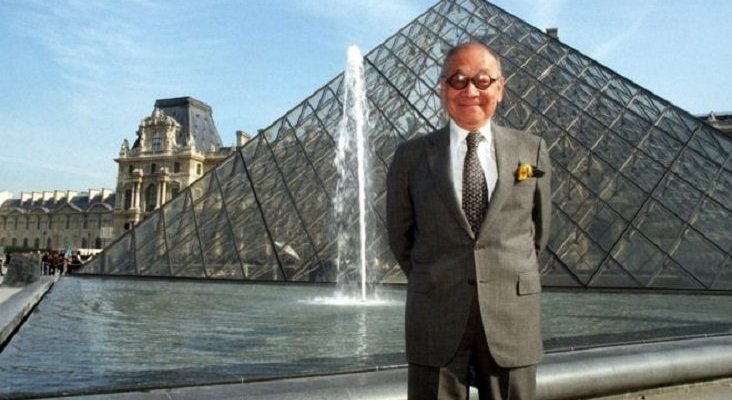 Fallece el arquitecto de la pirámide del museo más visitado del mundo|Foto: BBC