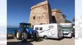 La proliferación de caravanas tapa un atractivo cultural de Marbella| Foto: Sur