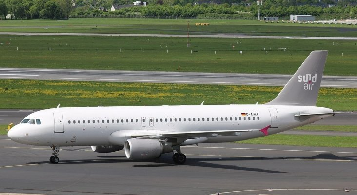 Avión de Sundair|Foto: Marvin Mutz (CC BY-SA 2.0)