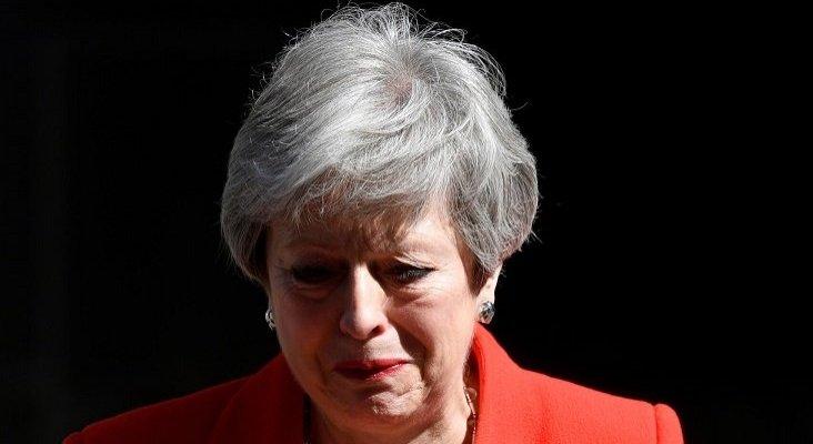 Theresa May anuncia su dimisión tras fracasar con el Brexit | Foto: Reuters vía El Español
