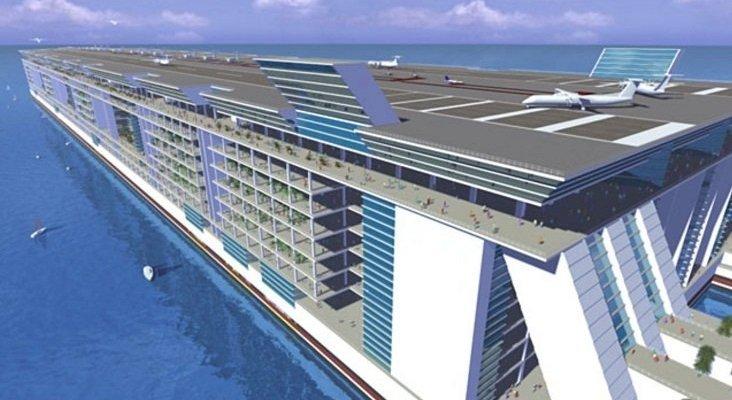 Freedom Ship, el crucero ideado para transportar a 100.000 pasajeros