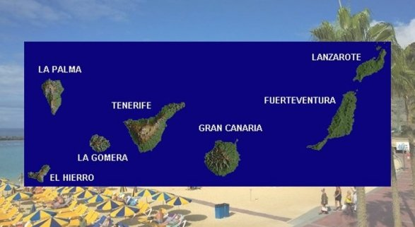 Canarias y los alojamientos extrahoteleros pagan el frenazo turístico