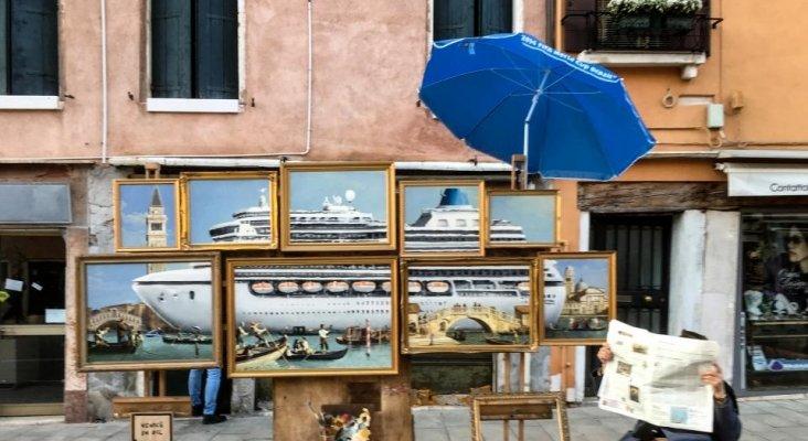 """Banksy """"ataca"""" esta vez en Venecia"""