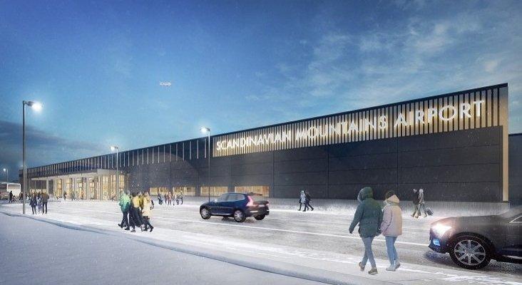 El nuevo aeropuerto de Suecia, un gancho para el turismo de esquí| Foto: scandinavianmountains.se