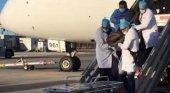 La cocaína mata a un pasajero en pleno vuelo