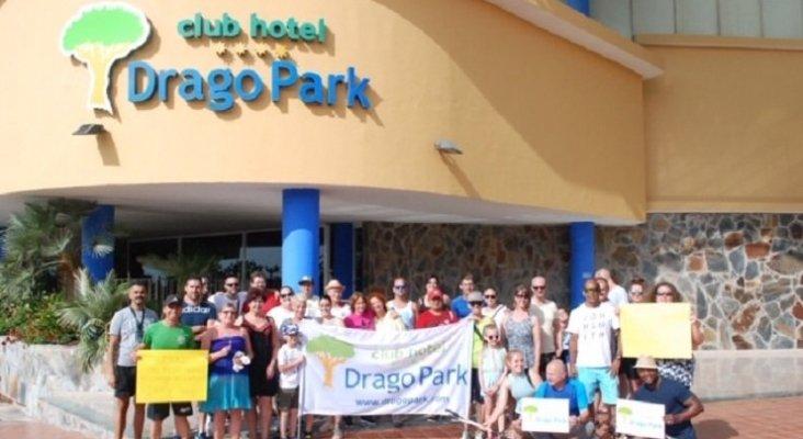 Personal y clientes del Primasol Drago Park, comprometidos con el Medio Ambiente
