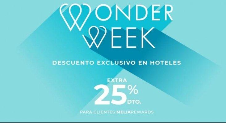 Meliá impulsa las ventas a través de su plataforma con la 'Wonder Week'