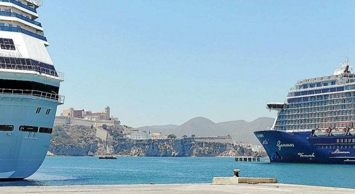 Baleares quiere copiar a Dubrovnik en la gestión de cruceros   Foto: periodicodeibiza.es