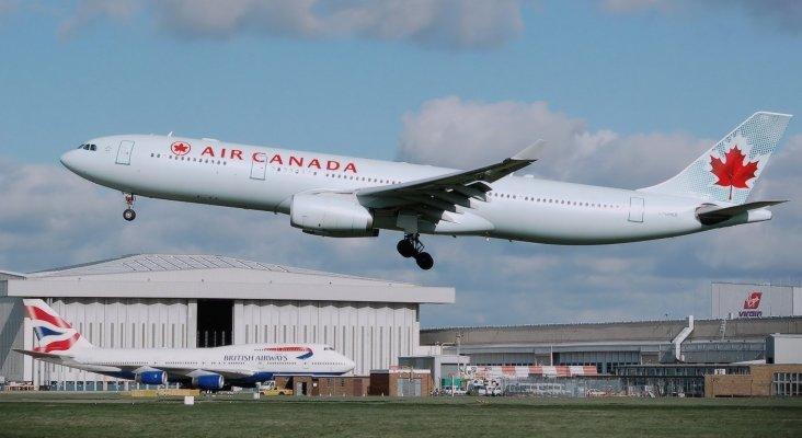 Air Canada quiere hacerse con un competidor por 345 millones