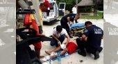 El disparo a un socorrista en una playa de la Riviera Maya desata el pánico entre los turistas|Foto: Pulso Tulum vía The Yucatan Times