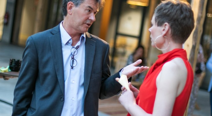 Gustaf Laner (Thomas Cook) con Alice Macandrew (Thomas Cook) | Foto: Paolo Sapio
