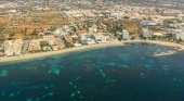 Vista aérea de Ibiza