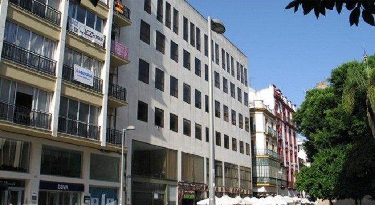 Una antigua sede de Hacienda se transformará en hotel en Sevilla  Foto: milanuncios.com