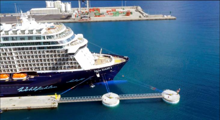 'Puertos de Las Palmas', premiada por su proyecto de muelle de cruceros en Fuerteventura