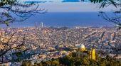 Vistas a la ciudad de Barcelona