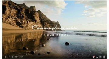 Siete melodías para practicar mindfulness, nueva acción de promoción turística de Islas Canarias