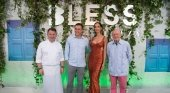 BLESS Hotel Ibiza: Martin Berasategui, Abel Matutes Prats, Eugenia Silva y Abel Matutes Juan