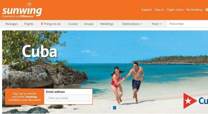 """Sunwing se erige como el """"mayor proveedor de turistas para Cuba"""""""