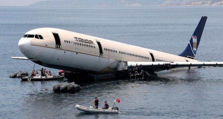 La Segunda Vida De Los Aviones Esta Vez Bajo El Agua