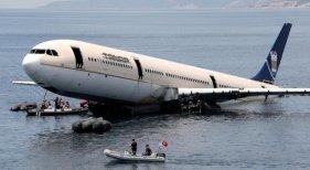 La segunda vida de los aviones, esta vez bajo el agua