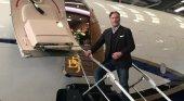 Así es el Boeing 737 BBJ de John Travolta | Foto: Transponder 1200