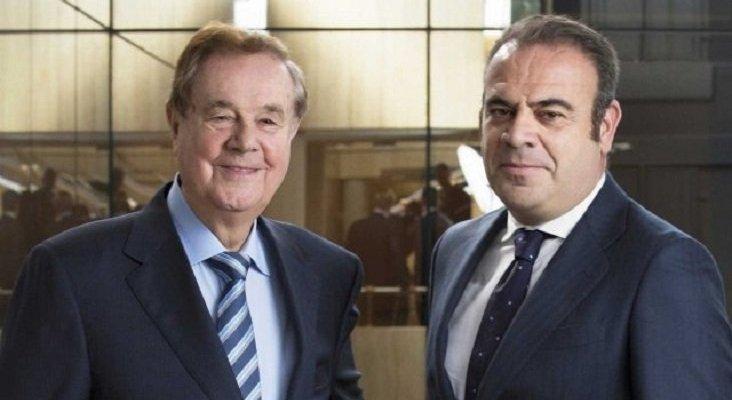 El Presidente y fundador de Meliá Hotels Internacional, Gabriel Escarrer Juliá, y el CEO, Gabriel Escarrer Jaume.