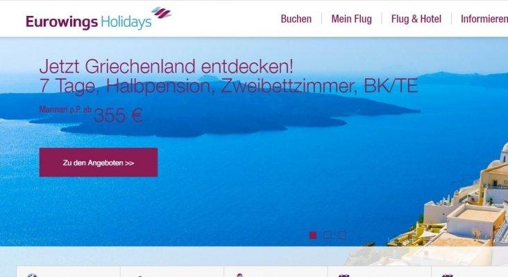 Las 8.900 agencias de QTA podrán vender paquetes de Eurowings Holidays