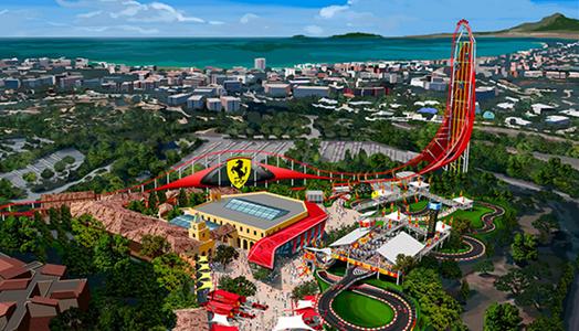 Ferrari Land abrirá sus puertas el 7 de abril de 2017