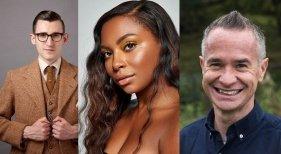 Thomas Cook Airlines recluta a tres famosos para su campaña de Redes Sociales | Foto: Ben Shires (izq.), Samira Mighty y Alex Winter- TravelMole