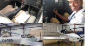 Avión hecho a mano por adolescentes volará desde Sudáfrica a Egipto
