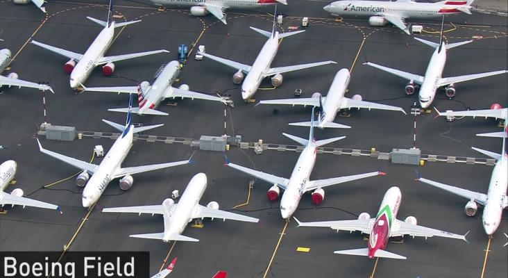 """El parking de Boeing cuelga el cartel de """"lleno"""""""