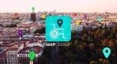 Mapcesible, la app para puntuar lugares en función de su accesibilidad| Foto: fundaciontelefonica.com