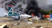 Tragedia en aterrizaje de emergencia de un Antonov en Rusia | Foto: Sputnik/Comité de Investigación de Rusia