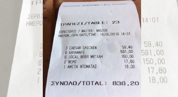 Decretan el cierre de una docena de bares en Mykonos por precios desorbitados a turistas    Foto: The Sun