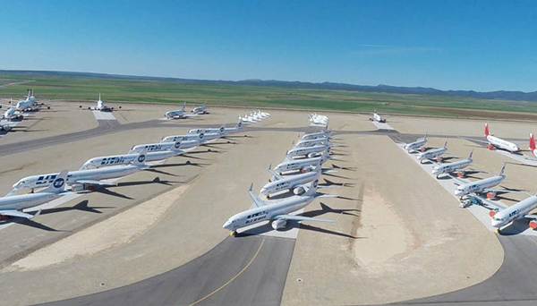 El aeropuerto de Teruel consigue rentabilidad al transformarse
