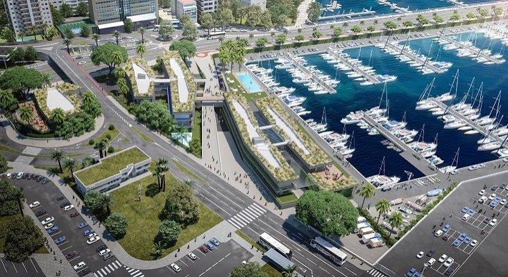 """El Club de Mar Mallorca será el """"más moderno y sostenible del Mediterráneo""""   Foto: Maqueta del club tras su reforma-Club de Mar Mallorca"""